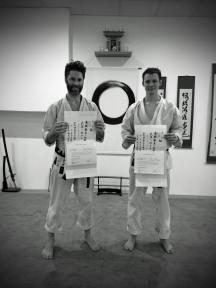 Thibault (à gauche) et Ludovic
